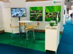 Stand of company JAVYS, a. s., at the WNE in Paris